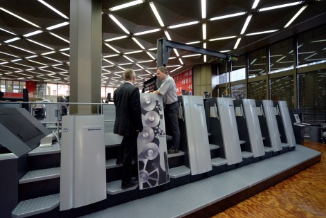 Series production starts for Speedmaster XL 75 Anicolor from Heidelberg