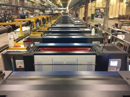 Com uma Speedmaster XL 106 com 18 corpos oferece a designers e marcas opções de acabamento excepcionais