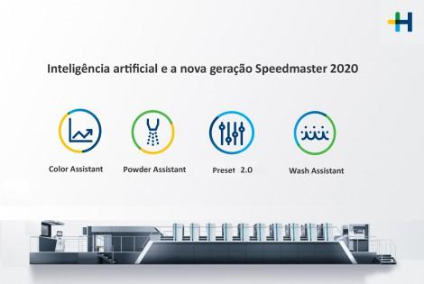 Recursos de inteligência artificial na nova Speedmaster