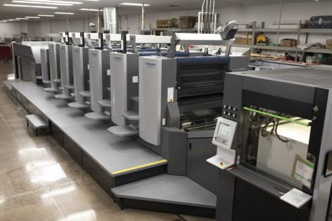 Gráficas americanas investem em equipamentos de alta tecnologia para aumentar a produtividade